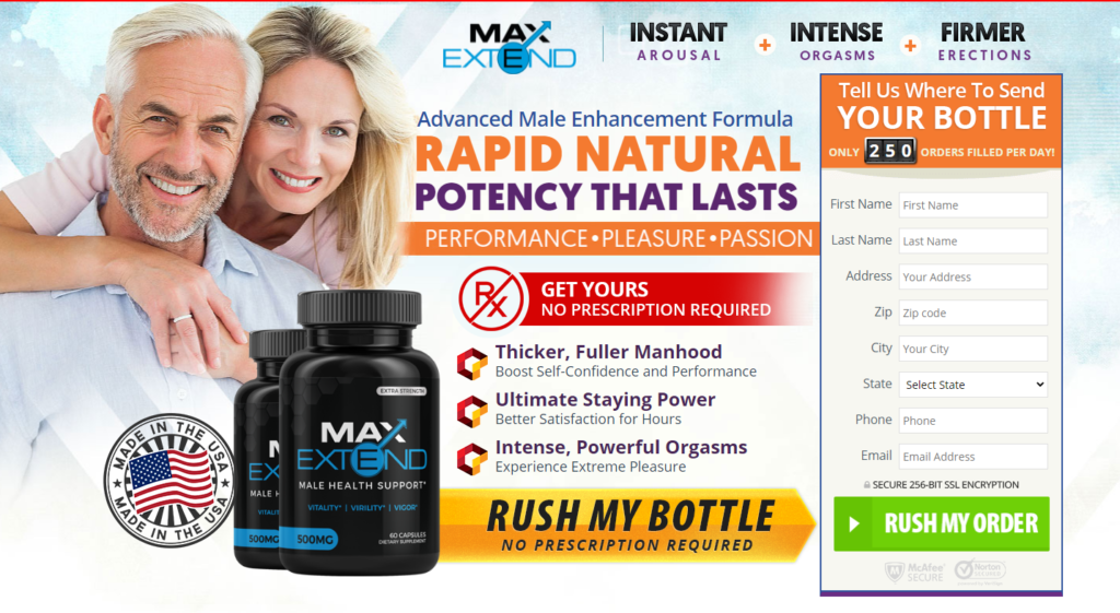 MaxExtend Male Health Support